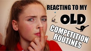 Download REACTING TO MY FIRST COMPETITION ROUTINES IN RHYTHMIC GYMNASTICS 😳 Video
