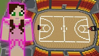 Download Minecraft: BASKETBALL GAME! - HEAD HUNTER THEME PARK [10] Video