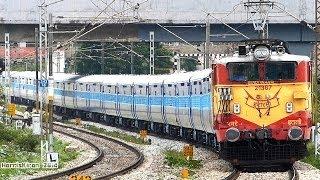 Download GLOSSY New Coaches : BANGALORE SEALDAH EXPRESS Indian Railways Video