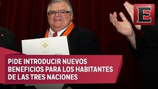 Download Carstens respalda una modernización más humana del TLCAN Video