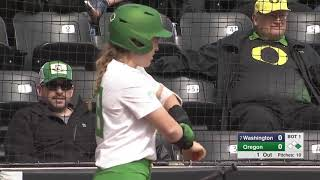 Download NCAA Softball 2019 : #8 Washington vs Oregon Mar 23 Video