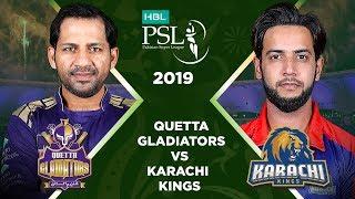 Download Match 15: Full Match Highlights Quetta Gladiators vs Karachi Kings   HBL PSL 4   HBL PSL 2019 Video