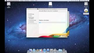 Download Install Microsoft Office on Mac (Deutsch!) Video