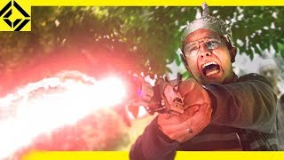 Download Man Stops Alien Invasion with VFX Video