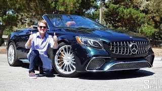 Download The Mercedes-AMG S65 Cabriolet is the Ultimate Extravagance! | TEST DRIVE Video