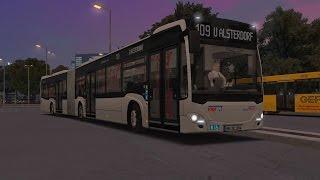 Download OMSI 2. Add-on Hamburg, Line 109, Mercedes-Benz Citaro G C2 Video