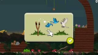 Download Angry Birds Rio - Golden Fruit Banana Walkthrough Level 4-15 Nigel White Bird Boss New Blue Birds Video