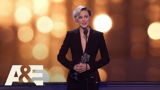 Download Evan Rachel Wood Wins Best Actress in a Drama Series | 22nd Annual Critics' Choice Awards | A&E Video