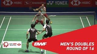 Download R16   MD   KIM/SEO (KOR) vs KAMURA/SONODA (JPN) [3]   BWF 2018 Video