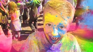 Download Holi Festival of Colors - COOLEST, MESSIEST, MOST COLORFUL DAY EVER Video