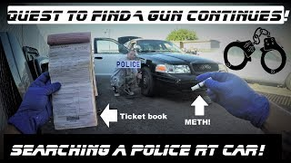 Download Searching A Police Car Found Meth! & Ticketbook Ford Crown Victoria Interceptor Round 2 Video