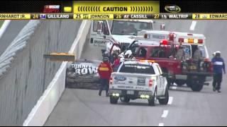 Download 2011 R#32 Talladega 09 Regan Smith hard crash Video