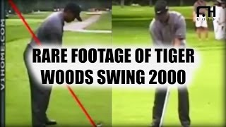 Download Rare Footage of Tiger Woods Golf Swing in 2000 Video