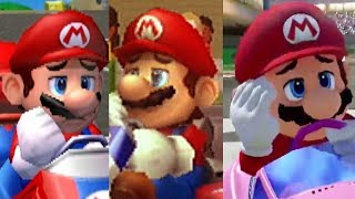 Download Evolution of Mario Kart Character's Losing/Fail Animations and Voice Clips (1992-2017) Video