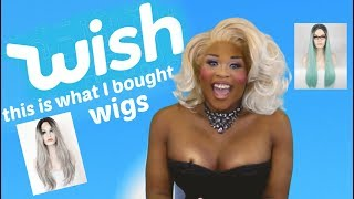Download Wish, this is what I bought. Wigs! Video
