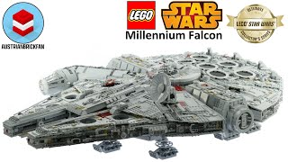 Download Lego Star Wars 75192 Millennium Falcon - Lego Speed Build Review Video