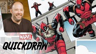 Download Brian Reber colors Spider-Man & Deadpool   Marvel Quickdraw Video