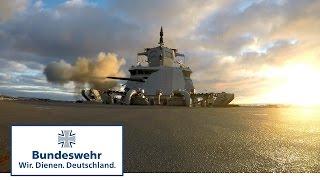 Download Die neue Fregatte der Bundeswehr: Feuer aus allen Rohren Video