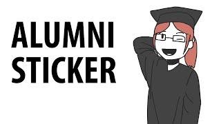 Download Alumni Sticker Video