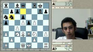 Download HEAVILY SITTING ON THE LIGHT SQUARES | Blitz Chess #96: Tal vs. dimICC (KID)- ICC 5-minute pool Video