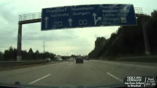 Download QQLX 0073 GERMANY trip from Achern to Bruchsal - Street view car 2012 Video