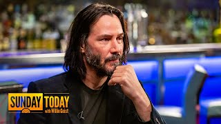 Download Keanu Reeves Talks Filming 'John Wick 3' Fight Scenes, Almost Changing His Name, More | Sunday TODAY Video