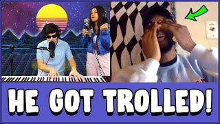 Download Female Singer Rickrolls Strangers on Omegle... Video