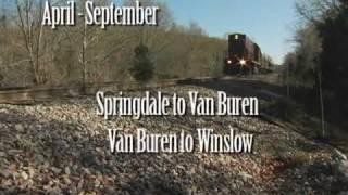 Download Arkansas & Missouri Railroad Video