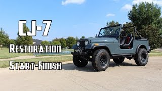 Download Complete Jeep Restoration in 10 Minutes Video