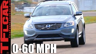 Download 2017 Volvo XC60 T6 0-60 MPH Leaderboard Review: Is the Super-Turbo Super Fast? Video