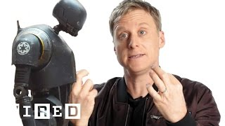 Download How Alan Tudyk Became Rogue One's K-2SO | WIRED Video