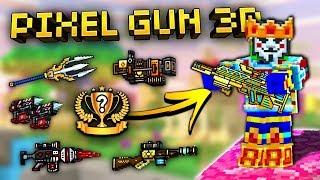Download Top 10 FREE Weapons in Pixel Gun 3D! (New Update) Video