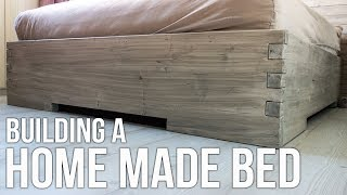 Download Building a homemade bed / Hjemmelaget seng Video