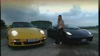 Download Lamborghini Gallardo vs. Porsche 911 Turbo Video