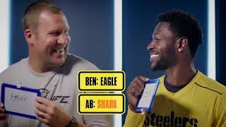 Download Ben Roethlisberger and Antonio Brown play the Newly Wed Game Video