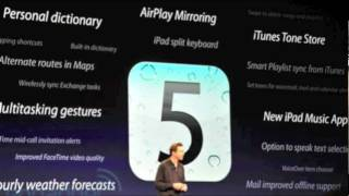 Download iOS 6 Anounced! iOS6 Preview & Overview Of All New Features 6.0 Video