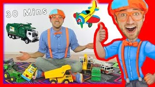 Download Toy Videos for Children with Blippi   Learn Numbers 30 Minutes Video