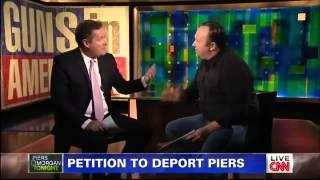 Download Alex Jones vs Piers Morgan On Gun Control - CNN 1/7/2013 Video
