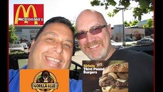 Download McDonald's 1/3 Pound Burger Review with Ken Domik! Video