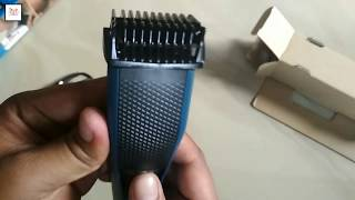 Download Philips Series 3000 Beard Trimmer Unboxing Video