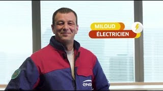 Download ENGIE - Miloud, Electricien tertiaire Video