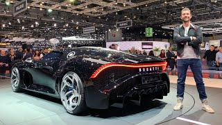 Download The Man Who Created The Most Expensive New Car In The World! €16.7m Bugatti LA VOITURE NOIRE Video