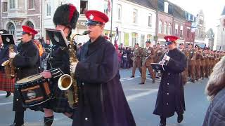 Download Cambrai 26/11/2017 centenaire bataille de Cambrai Royal Tank Regiment Video