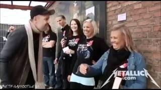 Download Metallica - Meet And Greet with Lars in Danish [Horsens June 6, 2012] HD Video