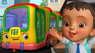 Download School Bus Song - स्कूल बस गीत | Hindi Rhymes for Children | Infobells Video