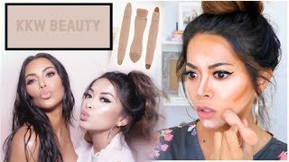 Download I was invited to Kim Kardashian's House! (not click bait) + KKW Beauty Contour & Highlight Review Video