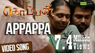 Download Appappa - Komban | Official Video Song | Karthi, Lakshmi Menon | G.V. Prakash Kumar Video