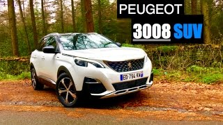 Download 2017 Peugeot 3008 SUV 1.6 BlueHDi Review - Inside Lane Video