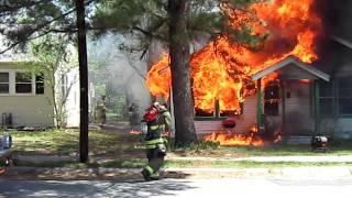 Download Paris Texas Structure fire Video