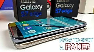 Download Fake/Clone Galaxy S7 Edge - How To Spot One Right Away - Be Careful! Video